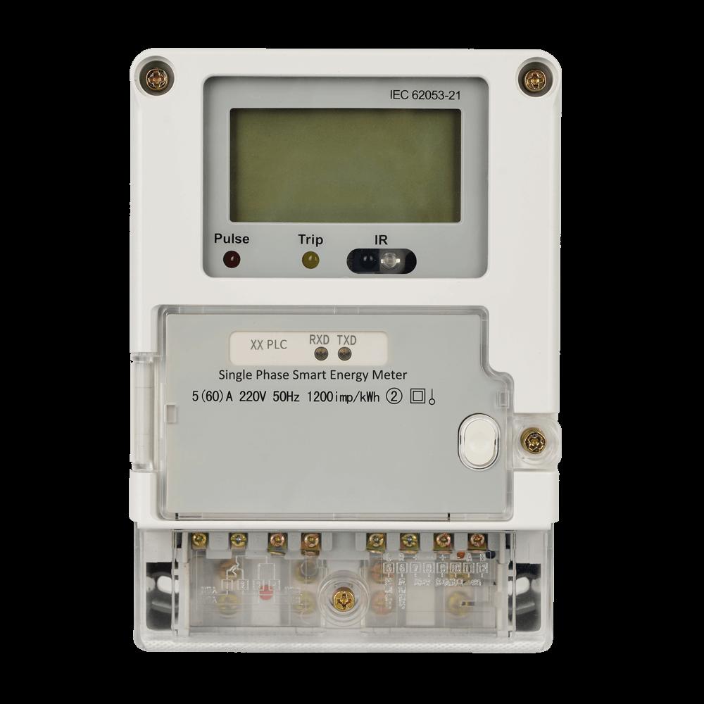 Nz Single Phase Smart Meter : Single phase smart energy meter manufacturer of